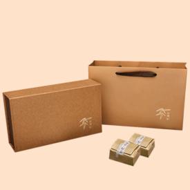 经典茶叶礼盒包装定制
