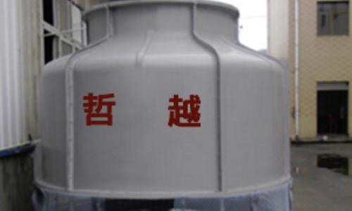 圆形冷却水塔更换填料