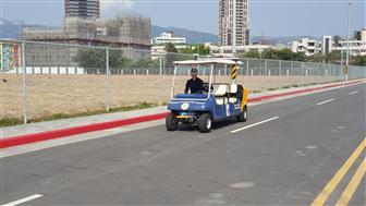 Autonomous driving testing field