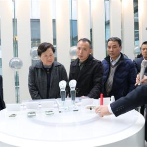 上海市知识产权局局长陈亚娟赴北斗西虹桥基地参观调研