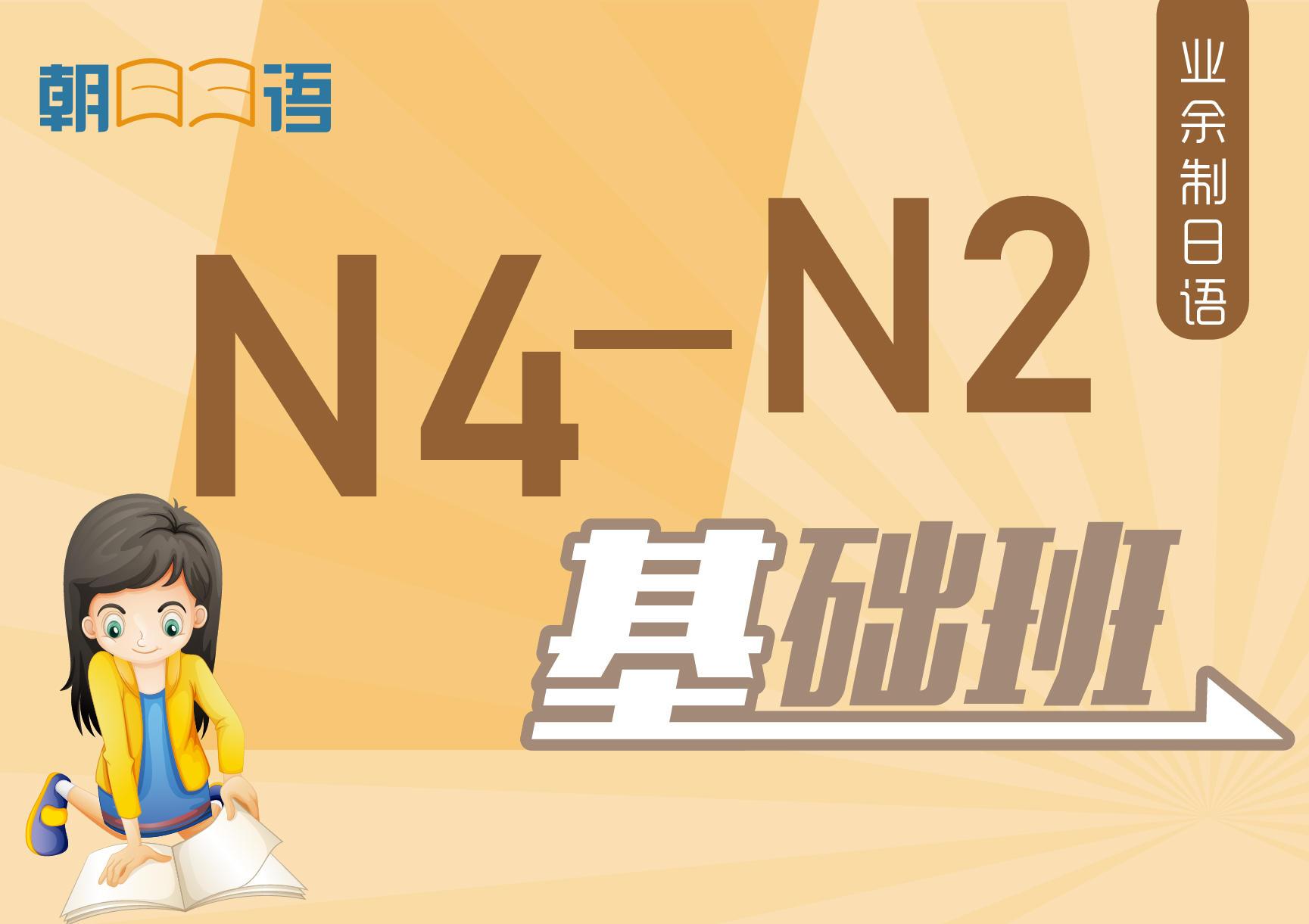业余制日语N4-N2基础班
