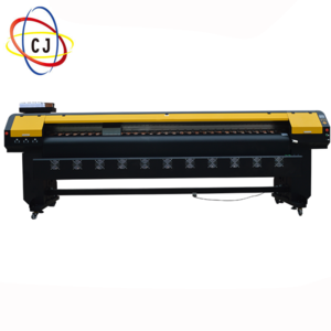 CJ-ES3202T eco solvent  printer with 2 pcs dx10 print heads