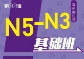 业余制日语N5-N3基础班