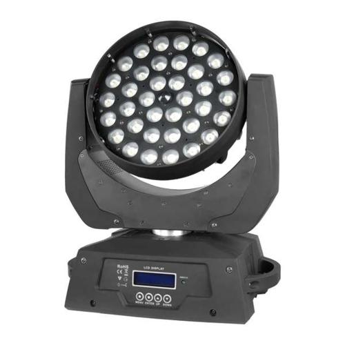 产品名称:MJ-A030B 36颗LED调焦染色灯