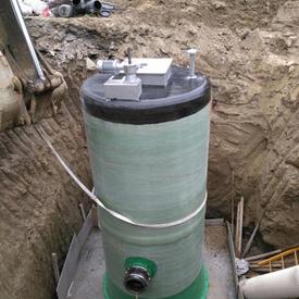 固液分離污水泵站