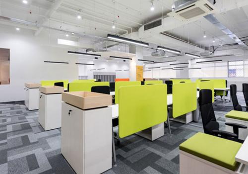 現代時尚 1300平 辦公室裝修