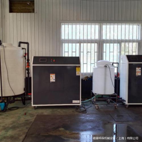 危廢切削液凈化產水回用案例六