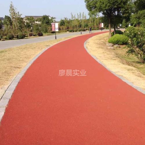 彩色陶瓷路面