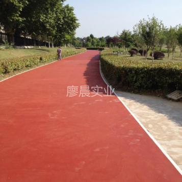 江苏景区彩色防滑路面
