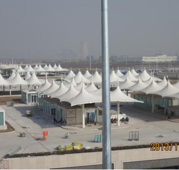 天津高铁站膜结构项目