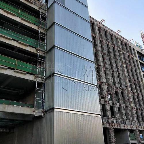 北京大学肖家河西区U型玻璃工程