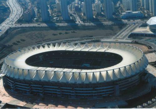 PTFE建筑膜材 廣泛應用于體育場館的屋頂材料