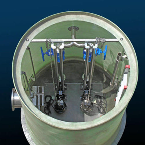 一体化提升泵站构成的优点