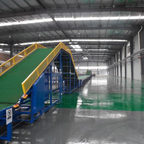 爬坡皮带线,爬坡输送线-上海世配自动化