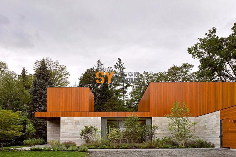 风景如画的家庭住宅