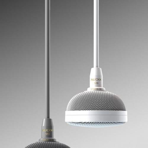 AUDIX宣布啟用了支持avb的天花板麥克風