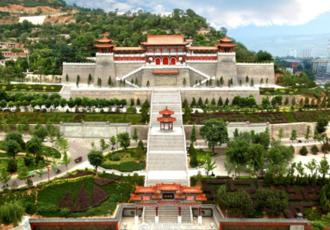 陕西宝鸡金台太极养生文化公园