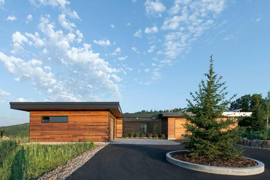 红鹰住宅——山顶之上的风景