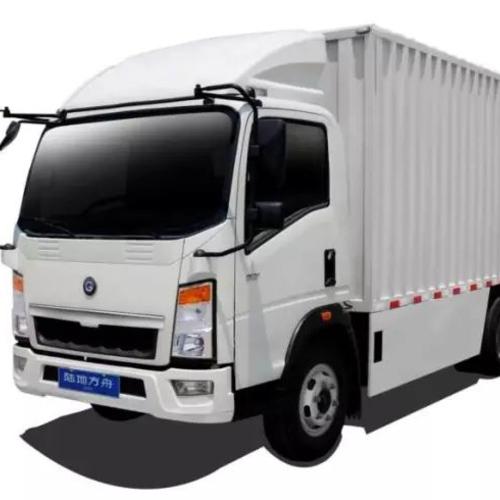 東風輕卡箱式貨車