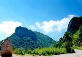 陕西旬邑石门山国家森林公园