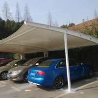 停车场膜结构案例
