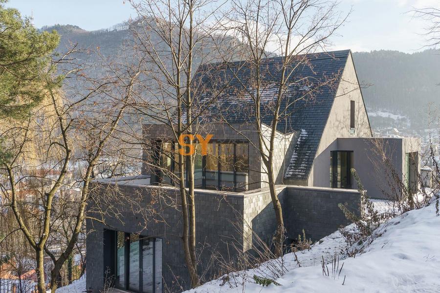 拥有360度景观视角的新式住宅