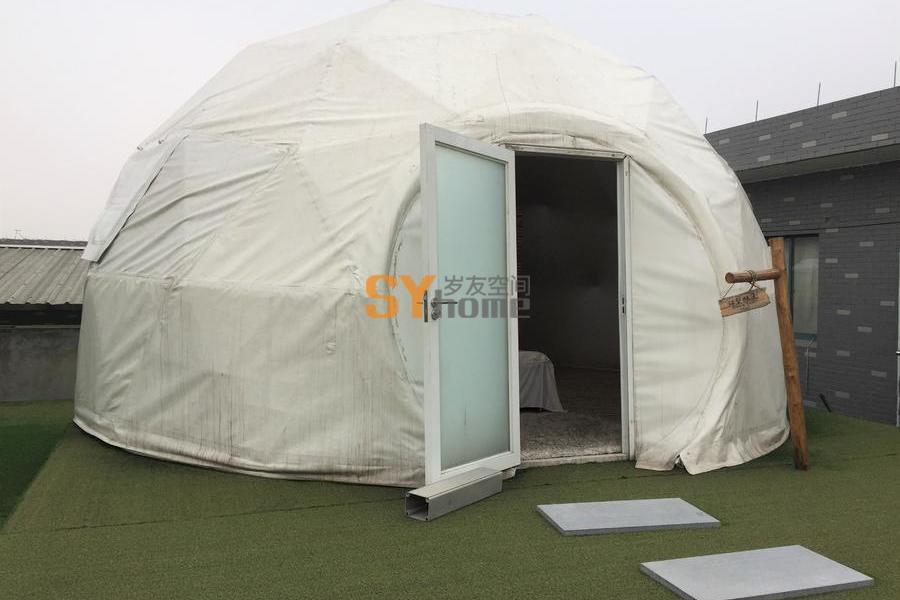 野奢球型星空帐篷