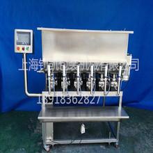 自动六头膏体灌装机
