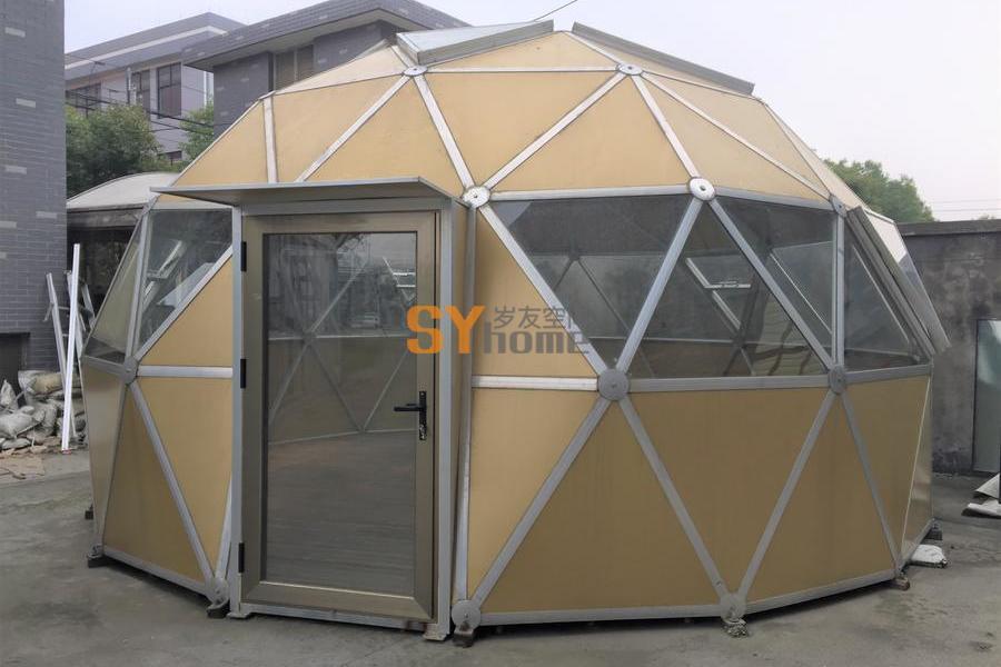 野奢球型星空铝合金玻璃房