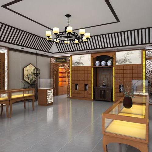 店面设计,家庭装修设计,药店设计装修风格很重要