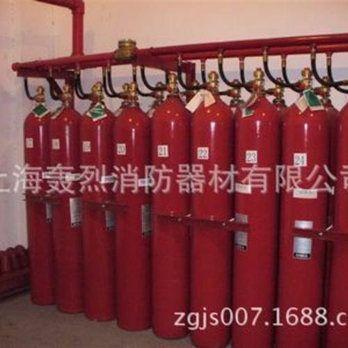 检测IG541灭火系统、烟烙尽INERGEN气体灭火系统 药剂充装
