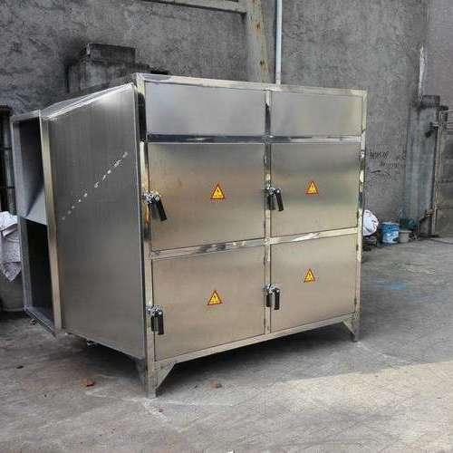 活性炭净化设备安装现场