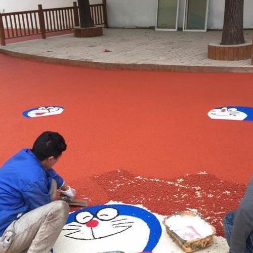 幼儿园塑胶地坪