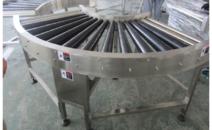 上海滚筒式转弯输送机非标定制 90度 180度 量大批发