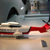 救援机模型