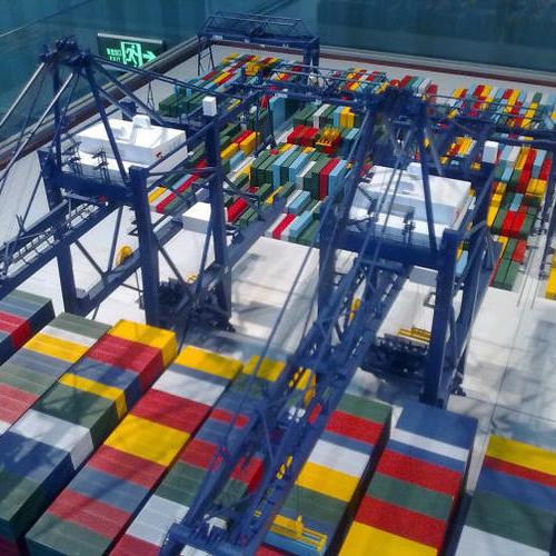 港口集装箱堆场