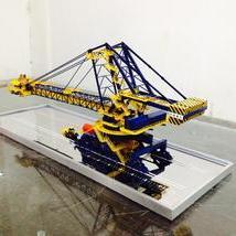 取料机模型