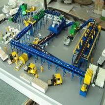 输送机模型