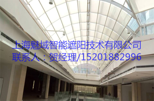 遮阳采光玻璃屋顶,魅域遮阳,15201882996