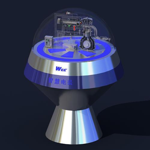 发动机剖面模型