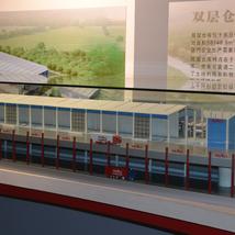 雙層倉庫模型