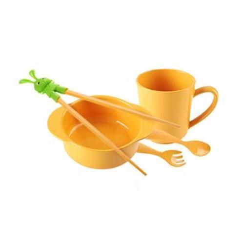 美國米仔ecokiddo玉米兒童用品(兒童5件套)
