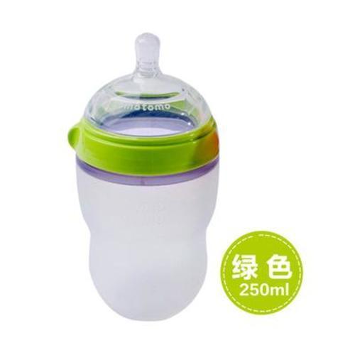 美國可么多么Comotomo奶瓶綠色250ml 獨立裝