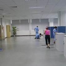 办公楼pvc地板清洗打蜡