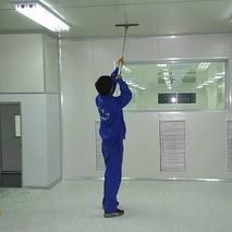 厂房pvc地板清洗打蜡