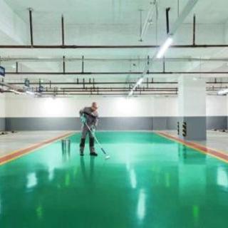 上海地下车库环氧地坪