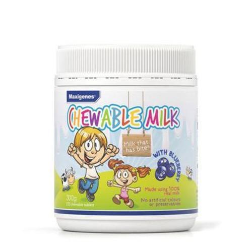澳洲 美可卓Maxigenes 藍莓味寶寶兒童咀嚼奶片保護視力150粒