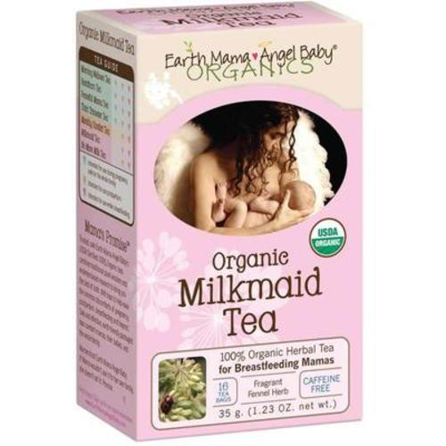 美國地球媽媽Earth Mama Angel Baby天使寶貝 催奶茶 16包