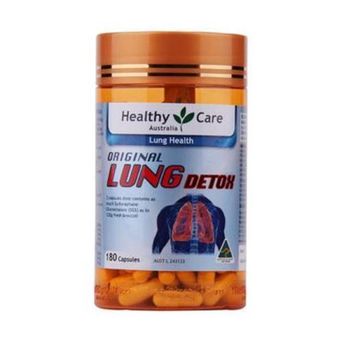 澳洲Healthy Care 清肺靈膠囊180粒 止咳清肺化痰抗霧霾