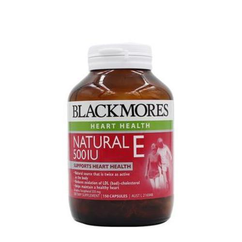 澳洲澳佳寶Blackmores500IU 天然維生素E 150粒 美顏淡斑